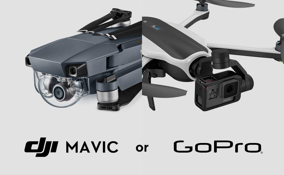 DJi MAVIC or GoPro